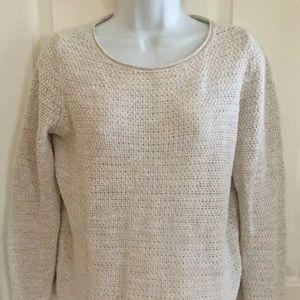 Eileen Fisher Organic Cotton Linen Blend Sweater